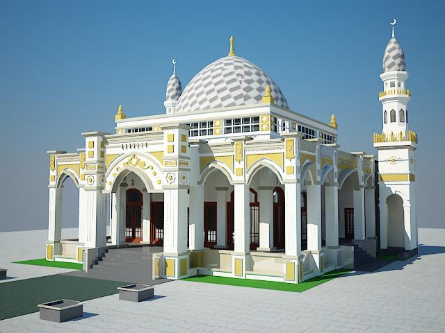 Rio Rachman Desain Masjid Dan Mushola